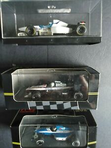 3 X ONYX F1 DIE CAST CARS ALL BRAND NEW BOXED IN PRESENTTION CASES LOW PRICE!