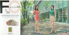 Hasegawa 1/24 FC04 (29104) Fashion Model Girls Figure (2 Figures)