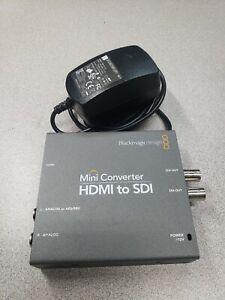 Blackmagic HDMI to SDI Mini Converter with Power Supply