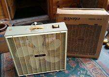 """Vintage Lasko Model 4713 3-Speed 20"""" Portable Box Fan w/ Box"""