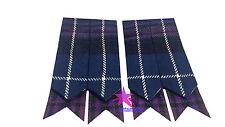 Scottish Kilt Flashes Pride of Scotland Tartan/Kilt Hose Sock Flashes Scotland