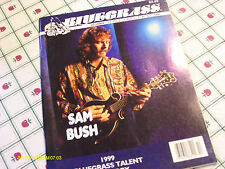 Sam Bush Covers Bluegrass Unlimited Magazine October 1998