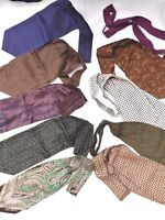 lot de 9 cravates (écharpe - cravate scarf...)