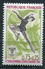 STAMP / TIMBRE FRANCE NEUF LUXE ** N° 1546 ** SPORT / JEUX OLYMPIQUES GRENOBLE