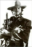 Clint Eastwood Poster Cowboy Guns, 24x36
