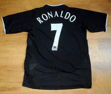 Nike Manchester United 2003/2004 Ronaldo Away Camiseta (Talla XLB/s)