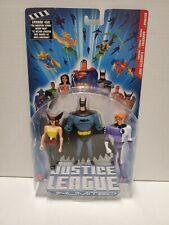 Justice League Unlimited Batman - Hawkgirl - Elongated Man Action Figures H2102