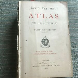 Antique Atlas 1888, 76 maps