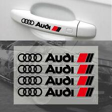 4 Pcs Black S Line Car Door Handle Sticker Sport Badge Dashboard All Model S52