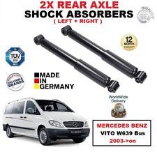 POSTERIORE SX + DESTRO AMMORTIZZATORI Set per Mercedes Benz Vito W639 Autobus