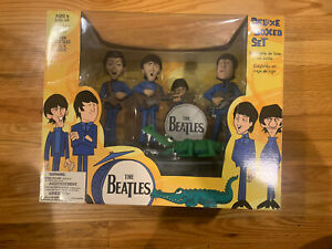 The Beatles Cartoon Action Figures McFarlane 2004 Complete Set