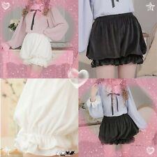 Harajuku costume lolita bloomers safety Velvet, plush, pumpkin shorts
