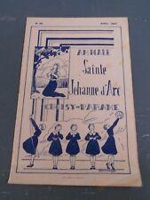 Bulletin des anciennes élèves de l'Institution Jeanne d'Arc - Choisy, Paramé
