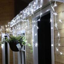 288 LED Blu Bianco NEVICANDO Ghiacciolo Indoor Outdoor Luci di Natale ultra luminosa