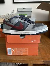 Nike Dunk Low Pro Grey/ Team Red UK8.5 Used