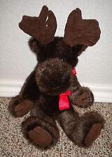 Boyds Bears & Friends Moose Plush Brown Murray Moosehoofer