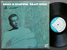 GRANT GREEN Green Is Beautiful LP BLUE NOTE BST 84342 US 1970 Idris Muhammad VG+