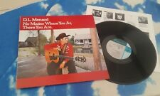 """#D.L. MENARD - """"NO MATTER WHERE YOU AT, THERE YOU ARE"""" 1988 LP + INNER"""