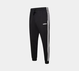 Mens Adidas Originals 3-Stripes Fleece Tapered Cuffed Pants S-2XL