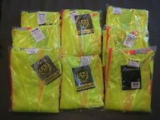 8 Qty New Occunomix High Visibility Type R Class 3 Safety Shirt(See Description)