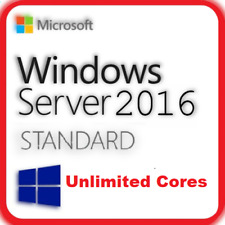 Windows Server 2016 Standard License Key ESD Unlimited Cores