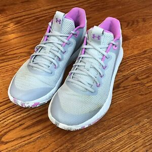 Under Armour Womens Hovr Breakthru Sneakers Shoes 3024398-104 Sz 8.5