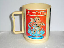 Garbage Pail Kids Vintage Plastic Mug, 1986 Peter Pan Inc. New Old Stock