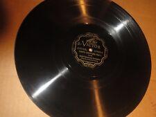 """78RPM 12"""" Victor Symphony Orch., Shilkret, Zampa Overture Parts. 1 +2 nice V+ V"""