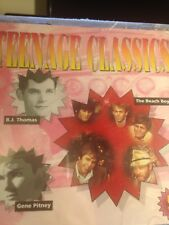 TEENAGE CLASSICS 5 (CD) 60's Soul & Pop/Dixie Cups/Lee/Everett/Parker/Beach Boys