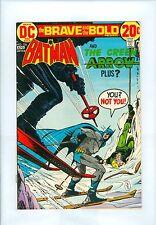 Brave and the Bold #106 VF Aparo Batman Green Arrow Brief Origin Two-Face