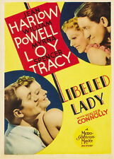 Libeled Lady - 1936 - Jean Harlow William Powell Jack Conway Vintage Comedy DVD