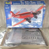 REVELL 04558 - 1:48 - Junkers Ju 52/3m - OVP - #AN46456