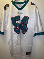 Beautiful Vivid Miami Dolphins Z. Thomas, #54  Xl  NIKE TEAM NFL Jersey White