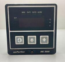 Partlow MIC 2000 / MIC2000 2330001 Process Controller 1/4 DIN 90-264VAC 24VAC/DC