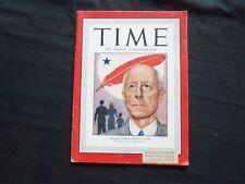 1946 NOVEMBER 4 TIME MAGAZINE - BOSTON'S CHARLES FRANCIS ADAMS - T 1045