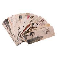 Lot 30 Pcs Marque Page Marquer Imprime Accessoire Papeterie Piece Roman Lecteur