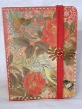 Brand New PUNCH STUDIO Brooch Pocket Journal BLOSSOMS AND BIRDS