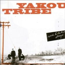 YAKOU TRIBE - RED AND BLUE DAYS  CD NEW+