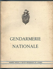 Revue Historique De L'armée. Numéro Spécial : Gendarmerie Nationale 1961