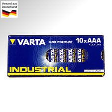 40 VARTA INDUSTRIAL AAA Micro Batterien 1,5V LR03 AM4 LR3 MN2400 4003 Ministilo