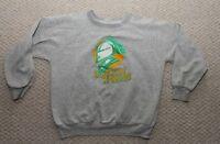 OHL London Knights Hockey  Vintage Logo Sweatshirt - Grey