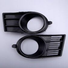 Pair Front Bumper Fog Light Cover Trim Grille Grill Fit For Suzuki Swift