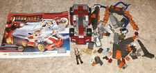 Iron Man 2 Mega Bloks Whiplash Showdown #1980 incomplete w/ whiplash figure lego