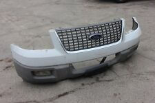 03-06 FORD EXPEDITION FRONT BUMPER + GRILL ASSEMBLY GENUINE FACTORY OEM WHITE