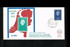 [A214_067] 1970 - Netherlands FDC W13A - Juliana 10 Gld - issued Philato - cance