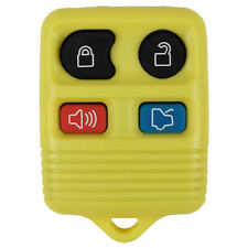 New Yellow Replacement Remote Key Keyless Transmitter Fob Clicker Beeper Entry