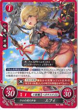 Fire Emblem 0 Cipher Echoes Trading Card Faye Effie B09-016N Maiden of Ram Villa