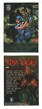 RESIDENT EVIL Chromium Trading Cards **JIM LEE Sig Card SP1** Ultra Rare Card!