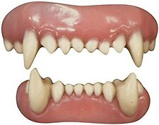 TINSLEY FX ANIMAL TEETH ADULT ACCESSORY HALLOWEEN COSTUME SCARY SMILE REALISTIC