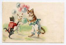 Chats humanisés . Dressed cats . Katze . Gato . 猫